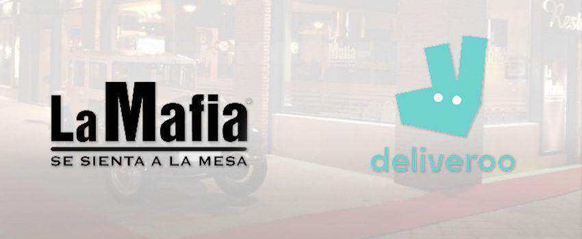 La Mafia se sienta a la mesa incorpora en sus franquicias el servicio de reparto de comida a domicilio con la compañía Deliveroo